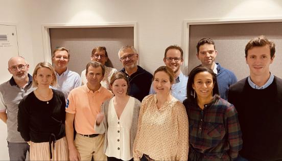 Photo de l'équipe de médecin de gastrologie de la clinique Jules Verne